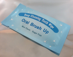 Brush-Ups Teeth wipes, oral wipes